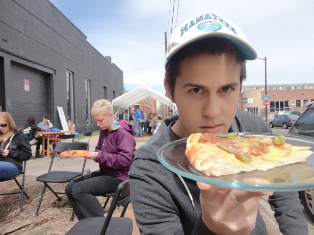 love us some vegan pizza